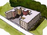 architettura scalettata 3v