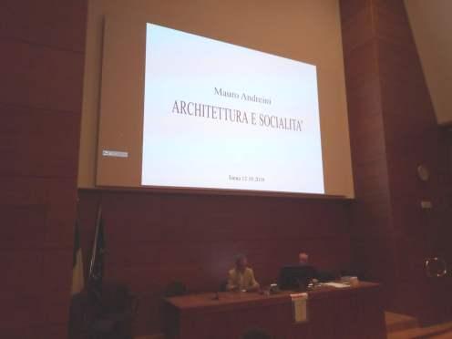 Architettura e Socialità