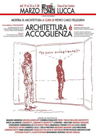 G. Architettura è Accoglienza_Lucca 2020
